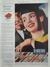 1941 Hamilton Watch Graduation Arlene Midas Linda Boulton Venita Endicott Ellyn