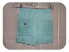 Bermuda Fantaisie Bleu/Vert Franklin Retro Design Marese  Taille 6 Mois