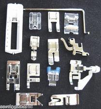 New 14 Snap-On Presser Foot Set for VIKING HUSQVARNA (5-7) cat Sewing Machines
