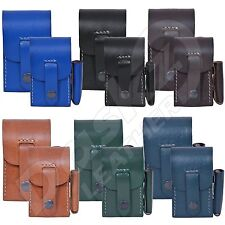 Leather Cigarette Cases lighter holder king size and superking size 100% geniune
