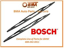 BMW NEW E39 525i 528i 530i 540i M5 WIPER BLADE SET BOSCH 1997-2003 3397001539