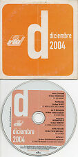 "AVRIL LAVIGNE / FAITHLESS / LA 5ª ESTACION / OUTKAST ""DIC 2004"" SPANISH PROMO CD"