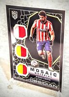 Diego Costa 2020-21 Panini Obsidian Mosaic Material Electric Etch Yellow 3/10