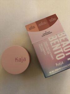 Kaja Beauty Bento Bouncy Matte & Shimmer Eyeshadow Trio 07 Glowing Guava NIB