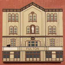 Fulton Opera House Lancaster, Pa The Cats Meow Wooden Shelf Sitter