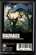 BAUHAUS BURNING FROM THE INSIDE CASSETTE A&M Records – CS 4953  1983