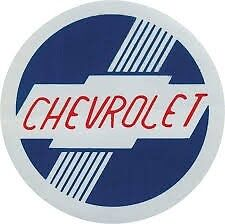 1953-55 CHEVROLET Heater Decal, Standard /Deluxe    QUALITY LICENSED DECAL.