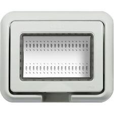 BTICINO COPERCHIO IDROBOX GRIGIO IP55 PER 503E 3 MODULI LIVING LIGHT LUNA 24603