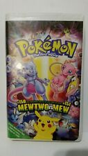 All 3 Pokemon The First Movie - The Movie 2000 - Psychic Surprise VHS Used Lot