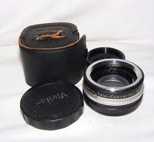 VIVITAR 2X-1 Auto Tele Lente para PENTAX M42 Con Funda Cubre fotografía