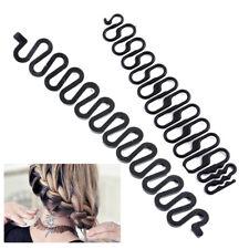 Women Fashion Lady Styling Hairstyle Clip Stick Bun Maker Hair Braid Tools