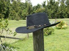 LITTLE JOE Golden Gate Hat CO.Authentic Cowboy Black ~7 1/2 WESTERN COLLECTION