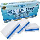 Premium Boat Erasers 3 Pack Removes Scuffs Marks Dirt Grime Fiberglass Vinyl
