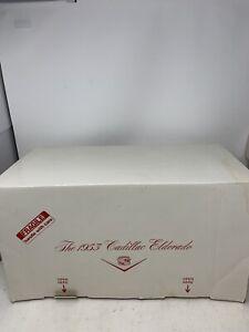 Danbury Mint 1953 Cadillac El Dorado 1:16 Box & Accessories ONLY