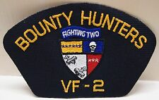 2 VF - 2 Bounty Hunters Fighting Two Military Patches Patch Fighter Pilot