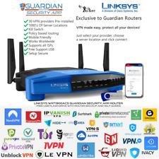 Linksys WRT1900ACS Guardian App VPN Router Nord Express IPVanish Pure SurfShark+