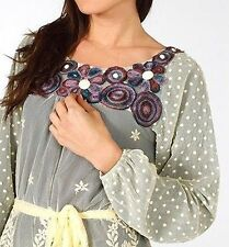 Lace Crew Neck Tunic Casual Dresses for Women