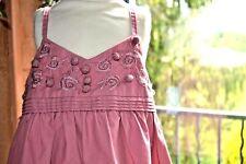 blouse neuve tartine et chocolat 4 ans bois de rose ouvrage devant superbe coule