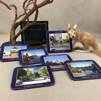"Dynasty Coasters ""Melbourne"" Landmarks Set of 6 Unused in Box Made In Australia"