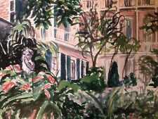 ANGEL IN THE COURTYARD | Print South Louisiana New Orleans French Quarter Art