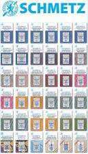 Schmetz Sewing Machine Needles - BUY 2, GET 3rd PACKET FREE + Fast UK Dispatch!
