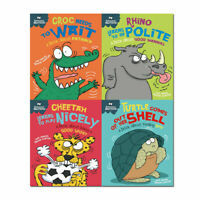 Sue Graves Behaviour Matters 4 Books Collection Set (Rhino Learns to be Polite)