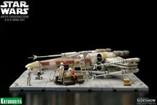 kotobukiya Star Wars Artfx Crosssection 3D X-Wing Set 1/35 Scale Diorama Luke