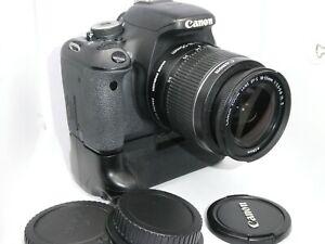 Canon EOS 600D  + Canon 18-55mm IS II Lens + grip + 32GB card 10510 Shots