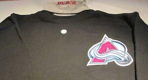 Colorado Avalanche Turtle Neck Sweatshirt Medium  Majestic NHL Hockey 50/50