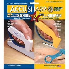 AccuSharp 012C ShearSharp Combo Knife And Tool Sharpener Lifetime Warranty