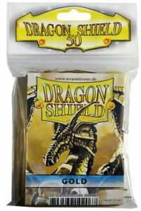 Dragon Shield Gold 50/Pack