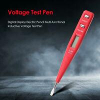 Digital Display Electric Pencil Multi-functional Inductive Voltage Test Pen