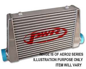 """PWR Street Series Intercooler CORE ONLY 400x300x68mm, 3"""" Outlets PWI78878"""
