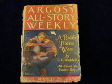 1923 Vintage Pulp Magazine A Boob There Was Argosy All-Story Weekly As IS   J11