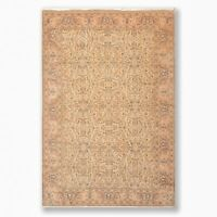 """6'8"""" x 9'8"""" Hand Knotted Authentic Oushak 100% Wool Oriental Area Rug Beige"""