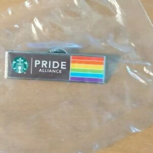 Starbucks PRIDE ALLIANCE Employee Exclusive Pin