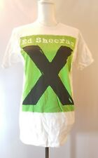 Ed Sheeran X Concert Tour T Shirt White Sz Medium