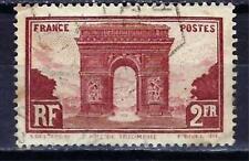 France 1929 Arc de Triomphe de l'Etoile (3) Yvert n° 258 oblitéré 1er choix
