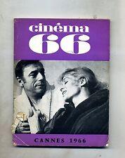 CINÈMA 66-Le Guide Du Spectateur N. 63#Federation Francaise des Cinè Clubs 1966