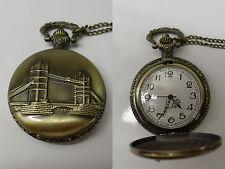 montre à gousset pont anglais