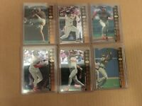 1994 UPPER DECK SP CLEVELAND INDIANS DIE-CUT TEAM SET LOFTON BELLE RAMIREZ