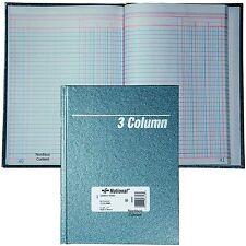 "National 56-303, 3 Column Columnar Book, Granite Series, 9-1/4 x 7"", 80 Pages"