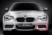 BMW NEW GENUINE 135M F20 F21 12-15 FRONT M SPORT BUMPER N/S LEFT LOWER GRILL