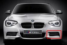 BMW NEW GENUINE 135M F20 F21 12-15 FRONT M SPORT BUMPER N/S LEFT LOWER GRILL