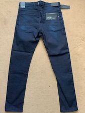 """REPLAY Men's HYPERFREE Jogging Stretch Blue Jeans, Size W32"""", L32"""", £145"""