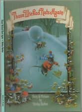 MARTHA B. RABBIT BOOK - THOSE WICKED RATS AGAIN Illustrated SHIRLEY BARBER