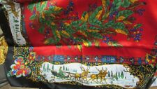 Victorian Christmas Themed - Women'S Scarf