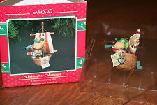 "Enesco ""Christopher Columouse"" Commemorating the Discovery of America - NIB"