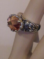 Stunning Gold Stone Multi Facet Ring (Claw size 6/16.5 mm)
