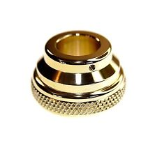 "Solid Brass Dummy Throttle Housing for 1"" bars"